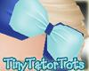 Kids Blue Hair Bow