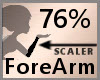 76% ForeArm Scaler F A