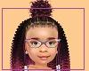 Kids Tia braids fro puff