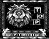 silver lion top