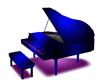 new blu piano with sound