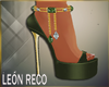 ♣ Martha Green Shoes