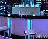 Neon Rooftop Glow Bar