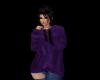 *J* Purple Hoodie