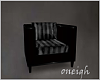 Black & Grey Chair