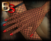(BS) Fishnet Gloves