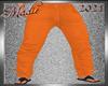 !b Kid-Men Jeans Orange