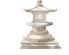 White Garden Lamp