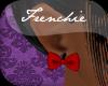 f. Bow Earrings* Red