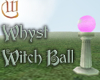 Witch Ball - Pink