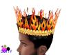 fire skull crown