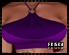 ♡| Tasty /Purple Top