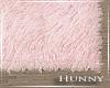 H. Fur Rug Pink