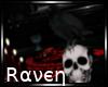  R  Raven & Skull
