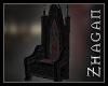 [Z[ DQC Throne wood