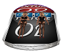 BED /W POSES DERIVABLE