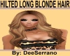 HILTED LONG BLONDE HAIR