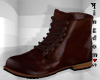 Brown firm woman boots