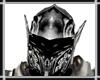 Silver Knight Helmet