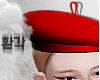 ♥ beret - red