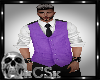 CS Mens Vest Purple