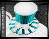 ~M~Noel Hat Aquamarine