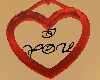 I Love You Heart Necklac