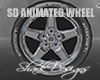 SD Animated Car Wheel