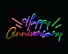 Neon Happy Anniversary