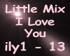 Little Mix I Love You