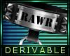 DERIVABLE COLLAR - RAWR