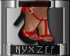 Sexy Red Black Heels