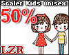 Scaler Kids Unisex 50%