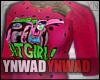 YN. BatGirl Sweater #6