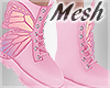 *S Butterfly Boots