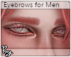 Rust Red Eyebrows