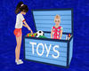 [E] Blue Toy Box Set
