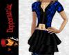 Cindy Jacket/Skirt BLUE