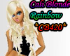 Cali blonde rainbow