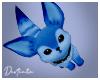 D. Blue Fluffy Foxy