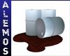 Steel barrels/sludge