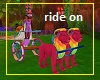 Trolls Party Lion Ride