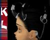 5 horns n earcuff chain