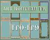 10 Art Nouveau Frames