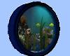 Wall Blue Fish Tank