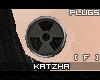 .K BioHazard2 Plugs |F