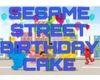 SesameStreet Cake/Cream