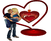 Valentines Romantic Kiss