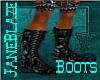 [JB] BlackPVC Male Boots