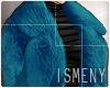 [Is] Fur Coat Blue